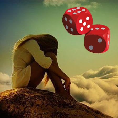 Гадание на кубиках - вернется ли любимый